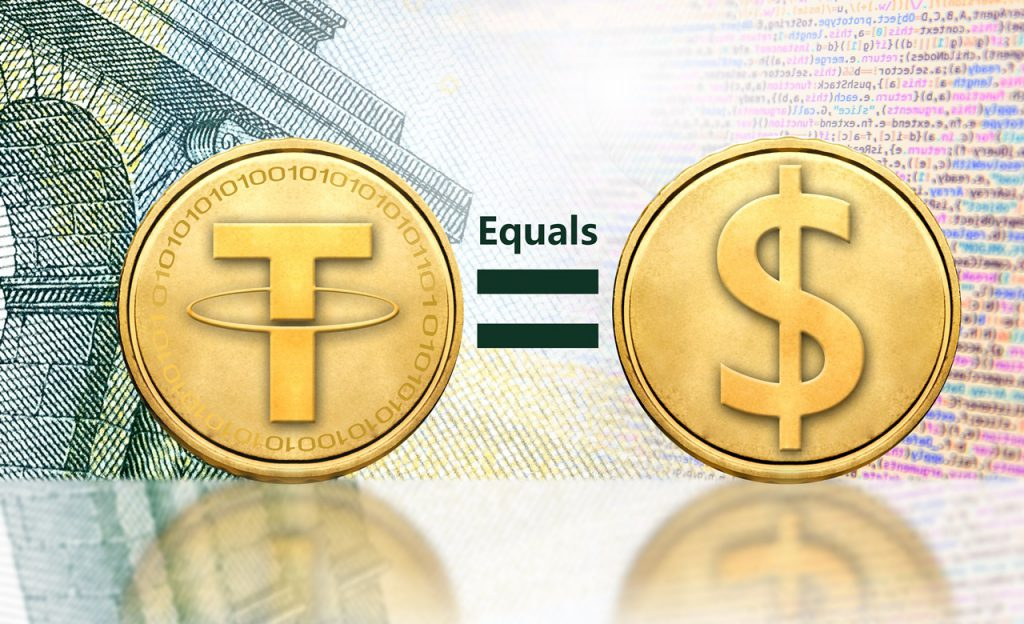1 tether = 1 usd